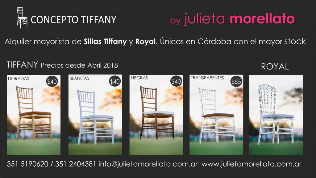 Sillas Tiffany